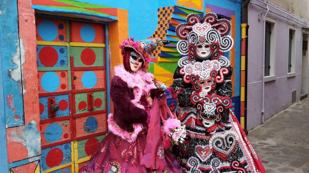 Voyager carnaval Venise