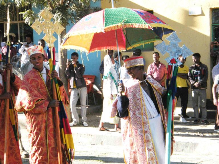 Fête de Timkat en Ethiopie