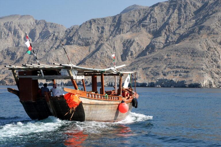 Croisiere sur un dhow dans les fjords de Musandam à Oman